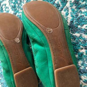Lucky Brand Shoes - Lucky brand green flats